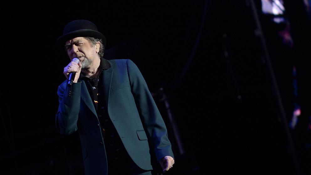 Joaquín Sabina, de concierto en el WiZink Center de Madrid. (EFE)