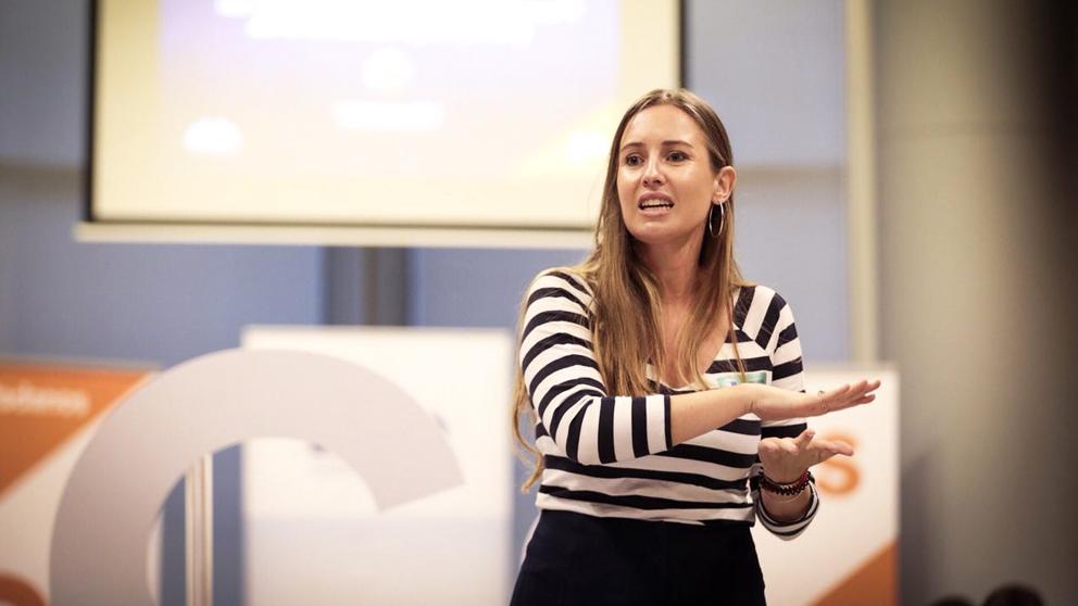 Melisa Rodríguez, portavoz adjunta de Ciudadanos. (Foto: Ciudadanos)