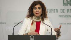 La actual ministra de Hacienda, María Jesús Montero, durante su etapa en la Junta de Andalucía. / Foto: Junta de Andalucía