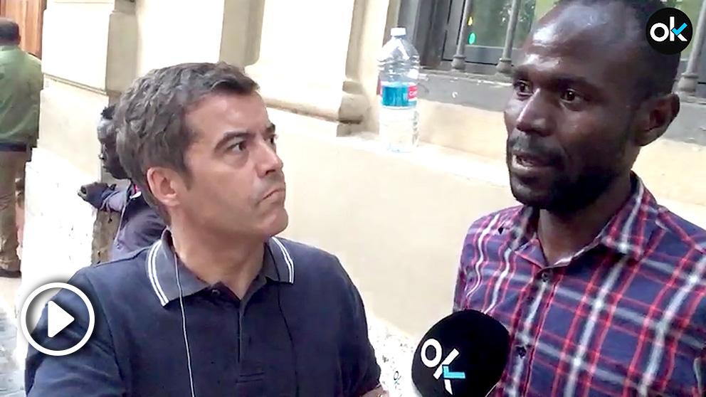 Los inmigrantes de Valencia se solidarizan con la llegada de sus compatriotas del Aquarius