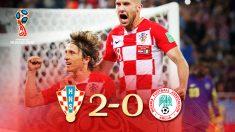 Luka Modric guió a Croacia a su primer triunfo en el Mundial. (Getty)