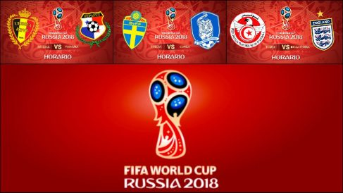Mundial 2018: Partidos hoy | Horario Mundial de Rusia