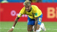 Brasil también tropezó en su debut en el Mundial. (Getty)