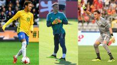 Neymar, Neuer y Keylor Navas, jugadores a seguir en el Mundial 2018. (AFP)