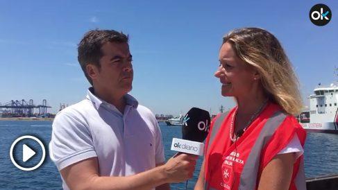 Okdiario habla con una ONG que viaja en el barco 'Aquarius'