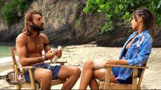 Sofía y Logan en su cara a cara final antes de dejar la isla de 'supervivientes 2018'