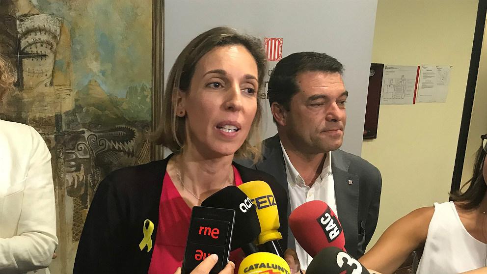 Àngels Chacón, consellera de Empresa de la Generalitat de Cataluña. (EP)