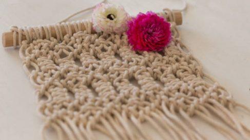 Aprende los pasos para hacer un tapiz de forma fácil