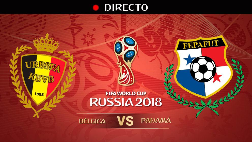 Mundial 2018: Bélgica – Panamá | Partido de Bélgica hoy, en directo