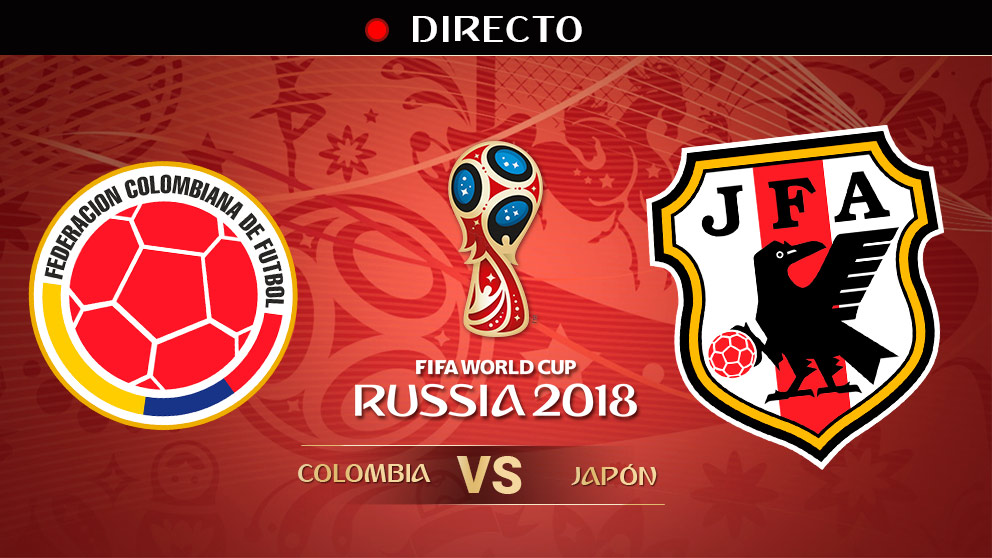Mundial 2018: Colombia – Japón | Mundial de Rusia en directo