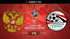 Mundial 2018: Rusia – Egipto | Mundial de Rusia en directo