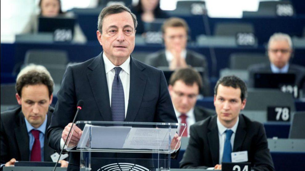 El presidente del BCE, Mario Draghi (Foto: BCE).