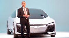 Rupert Stadler, presidente de Audi, ha sido detenido este lunes por su supuesta implicación en el caso de las emisiones de vehículos diésel del grupo Volkswagen.
