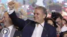 Iván Duque, presidente de Colombia. (Foto: AFP)