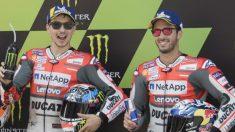 Jorge Lorenzo ha resurgido de sus cenizas para demostrarle a Andrea Dovizioso quién es el mejor piloto de Ducati. (Getty)