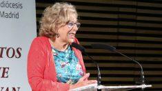 Manuela Carmena, este lunes. (Foto. Madrid)