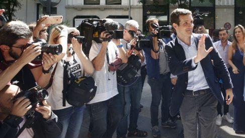 Pablo Casado, candidato a presidir el PP tras la dimisión de Mariano Rajoy