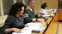 Grupo parlamentario de Podemos en La Rioja. (Foto: Europa Press)