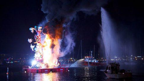 Hogueras de San Juan 2018 en Alicante