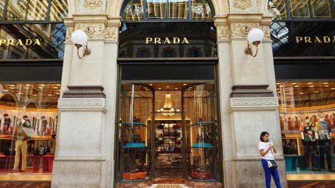Una de las tiendas de Prada (Foto. Prada)