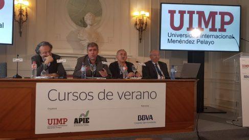 Unai Sordo, CCOO, y Pepe Álvarez, UGT.