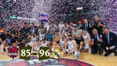 El Real Madrid, campeón de la Liga Endesa.