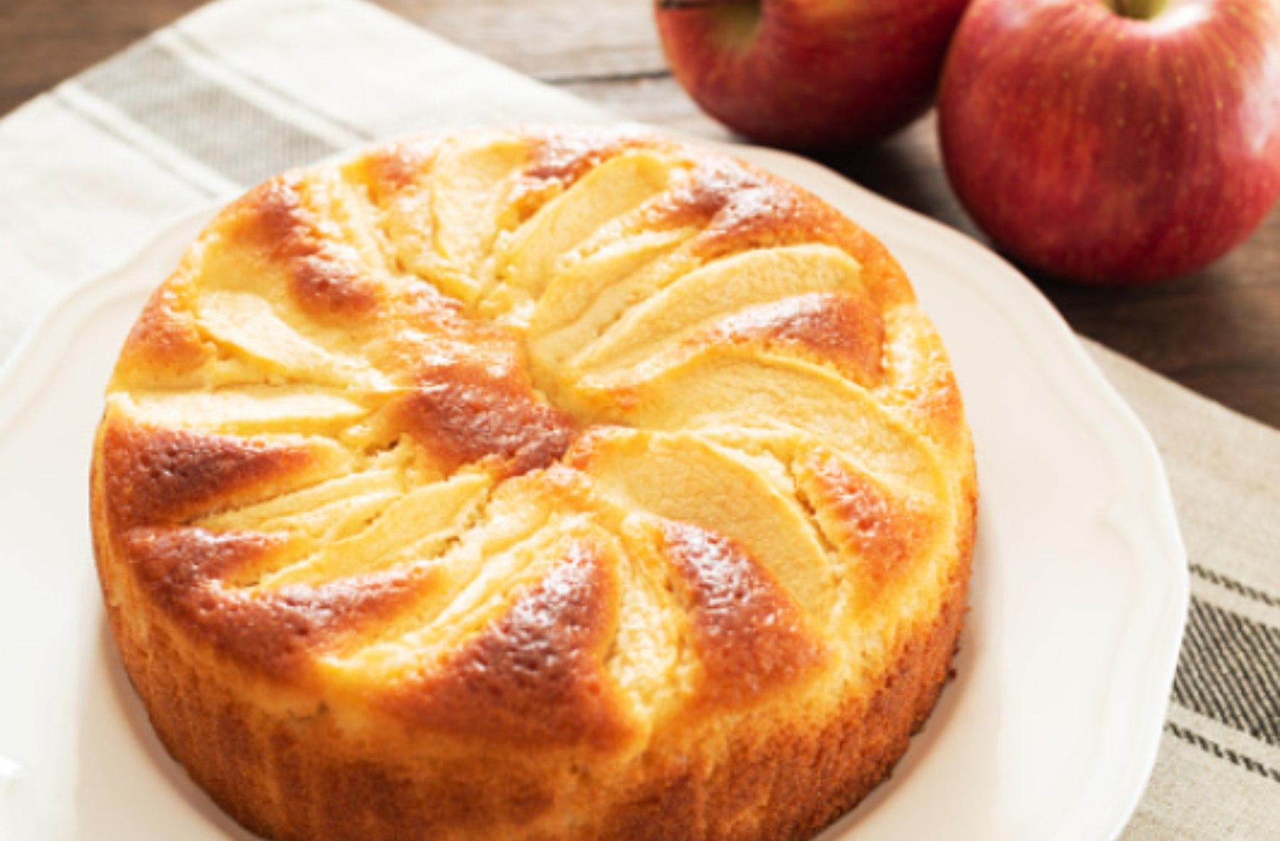 Bizcocho de manzana y yogur: receta ideal