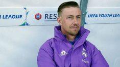 Guti durante un partido de la UEFA Youth League. (Getty Images)