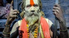 Un practicante de Hinduismo
