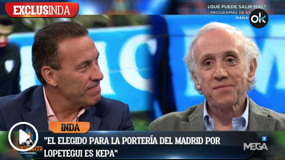 Inda y Buyo no tenían dudas: Kepa habría sido un gran portero para el Real Madrid.