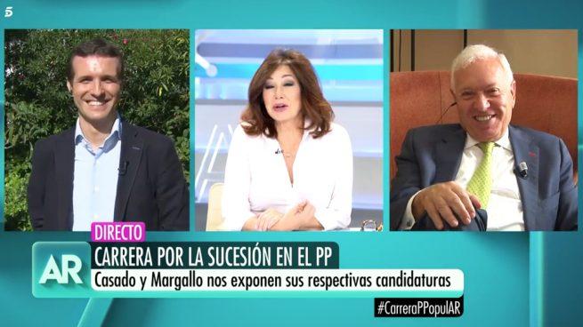 Pablo Casado y José Manuel García-Margallo