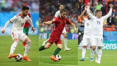 Jahanbakhsh, Bernardo Silva y Lucas Torreira, jugadores a seguir en el Mundial 2018.