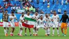 Los jugadores de Irán celebran su victoria ante Marruecos. | Mundial 2018