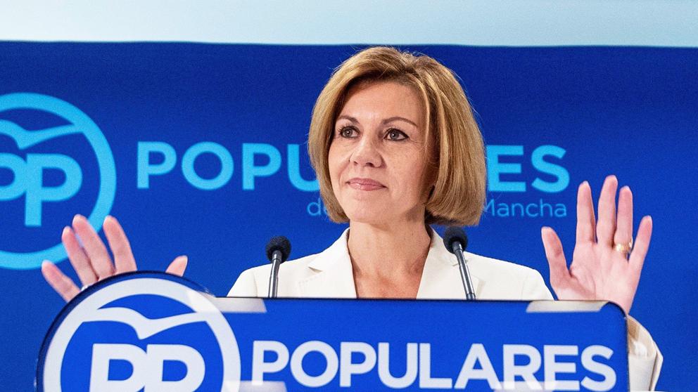 María Dolores de Cospedal, secretaria general del PP. (Foto: EFE)