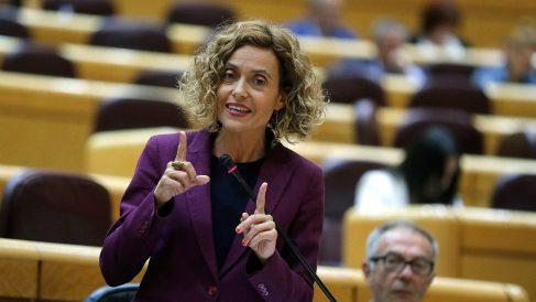 Meritxell Batet, ministra de Política Territorial en el Senado. (EFE)