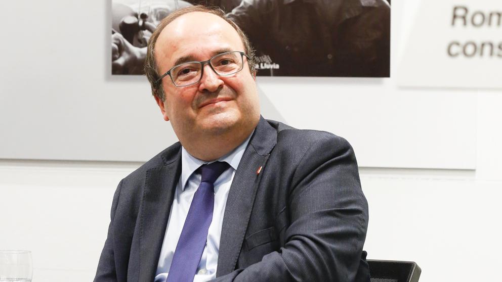 Miquel Iceta, primer secretario del PSC. (Foto: PSOE)