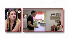 Eleazar y Violeta en su primer día juntos en la casa de 'MYHYV'