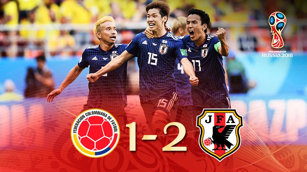 Japón se llevó la victoria ante Colombia | Mundial 2018