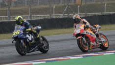 La llegada de Dani Pedrosa a Yamaha está bendecida por Valentino Rossi, que solo ve beneficios que le podrían ayudar a desarrollar la M1 de una forma más eficaz. (Getty)