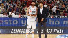 Rudy se llevó el MVP de la final. (Realmadrid.com)