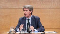 Ángel Garrido, presidente de la Comunidad de Madrid. (EP)