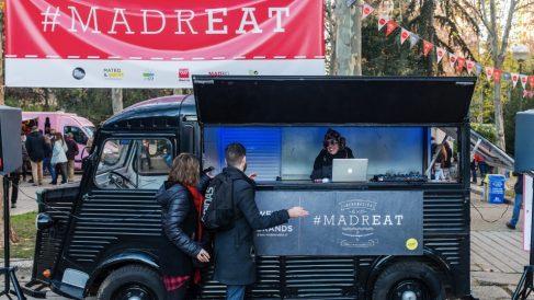 Feria de furgonetas de comida MadrEAT. (Foto. A. Balsera)