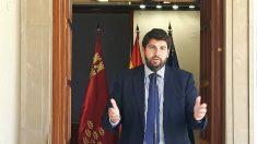 Fernando López Miras, presidente de la Región de Murcia. (EP)