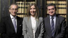 Compadecencia en el Senado de Antonio Alvarez-Buylla, Maria Isabel Valldecabres y Jose María Macias, candidatos a Vocales suplentes del Consejo General del Poder
