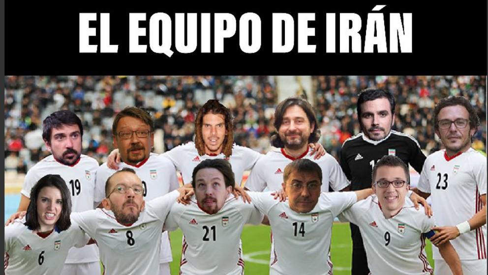Los memes del Irán – España del Mundial 2018.