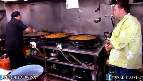 Chicote ha tenido que sufrir a un cocinero muy especial en 'Pesadilla en la cocina'. (Foto: laSexta)