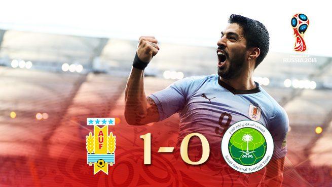 Mundial 2018: Luis Suárez lleva de rebote a Uruguay a octavos