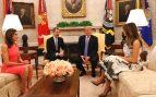 Bronca entre Felipe VI y Letizia en la Casa Blanca: la reina no quería tomar el té con Melania Trump