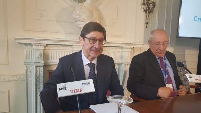 Goirigolzarri sobre los planes de Economía: «No es necesario aplazar la venta de Bankia»