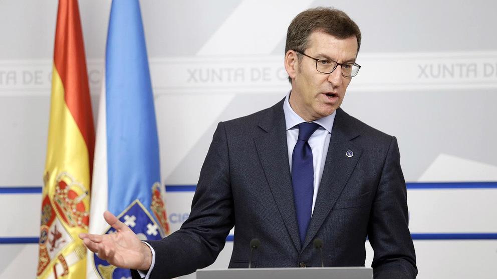 Alberto Núñez-Feijóo, presidente de la Junta de Galicia en una imagen de archivo. (EP)
